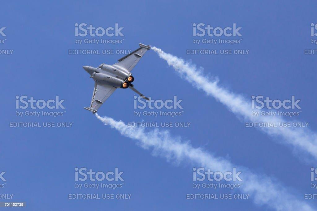Dassault Rafale C aircraft stock photo