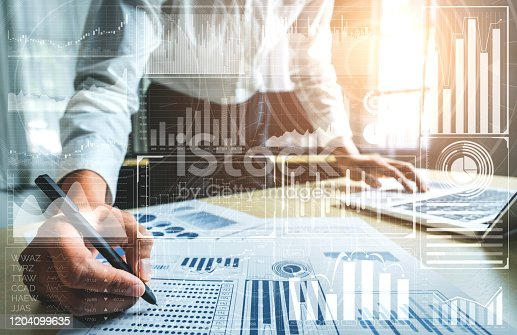 865596974istockphoto Data Analysis for Business and Finance Concept 1204099635