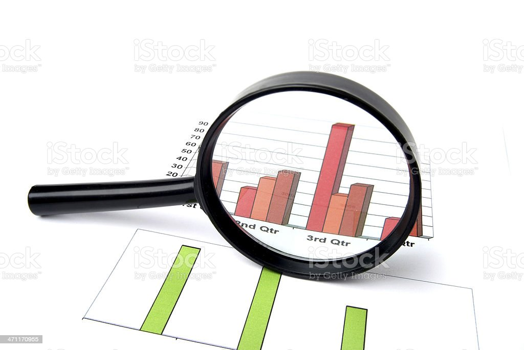 Data Analysis royalty-free stock photo