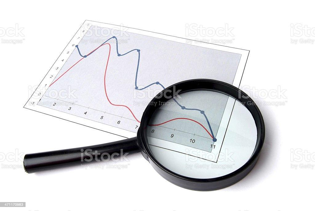 Data Analyst royalty-free stock photo