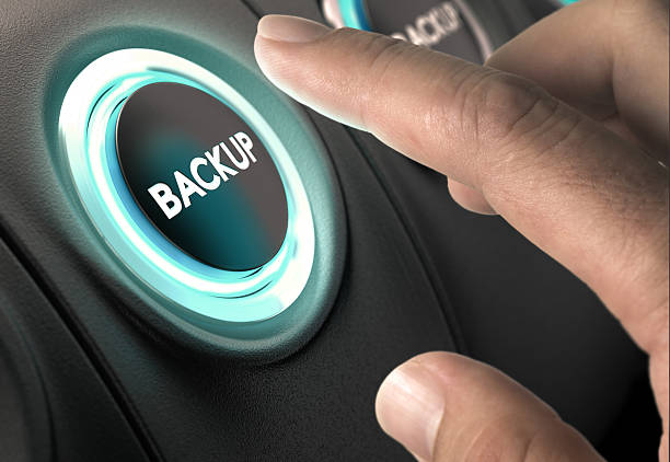 Data Backup, Security Concept stock photo