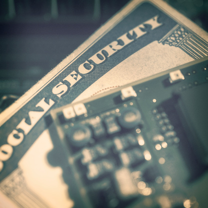 Data Breach Security Social Security Card Stock Photo Download Image Now Istock