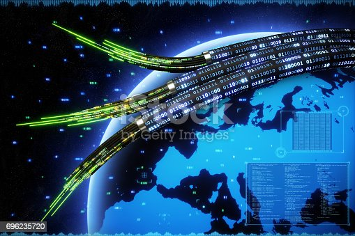 istock Data Cable Digital Europe 696235720