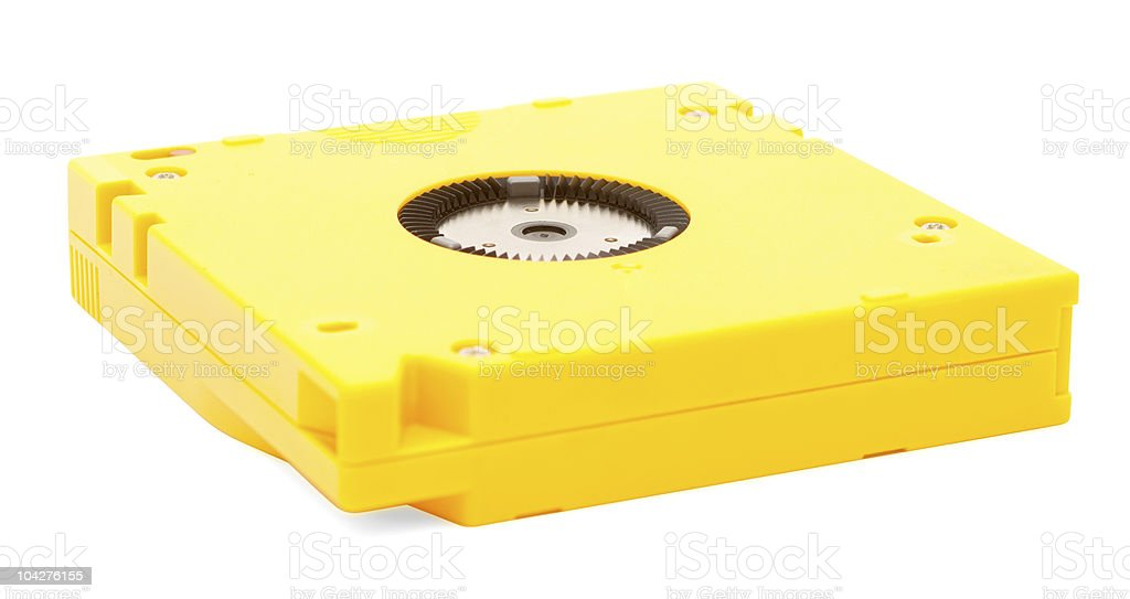 Data cartridge stock photo