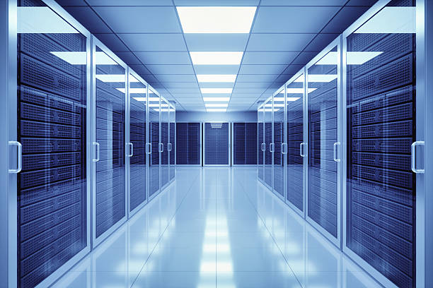 data center interior - network server stock pictures, royalty-free photos & images