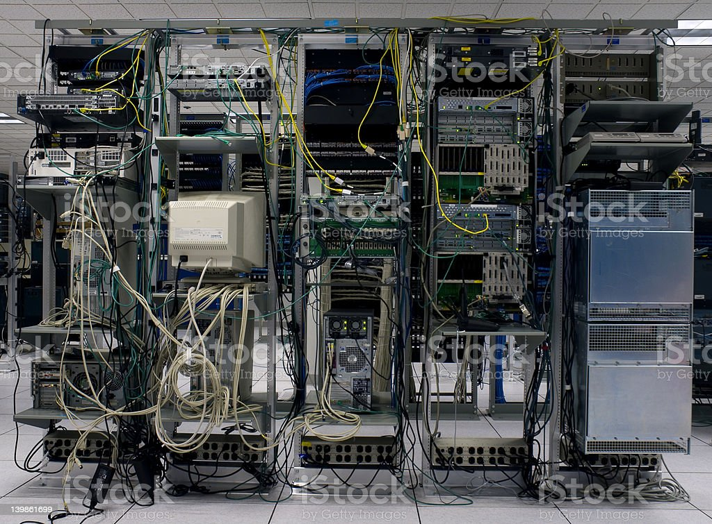 Data Center stock photo