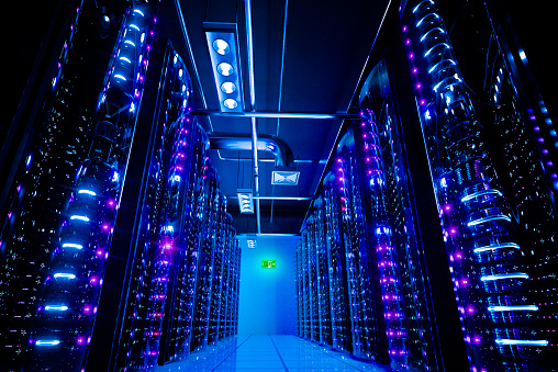 Data Center Stock Photo - Download Image Now