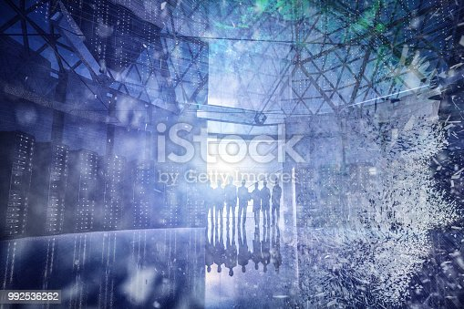 1128821780istockphoto AI data center 992536262