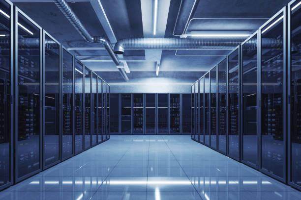 data center-server ruimte - datacenter stockfoto's en -beelden