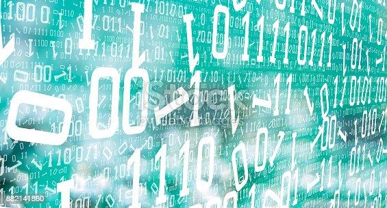882141812istockphoto Data future numbers cyberattack 882141860