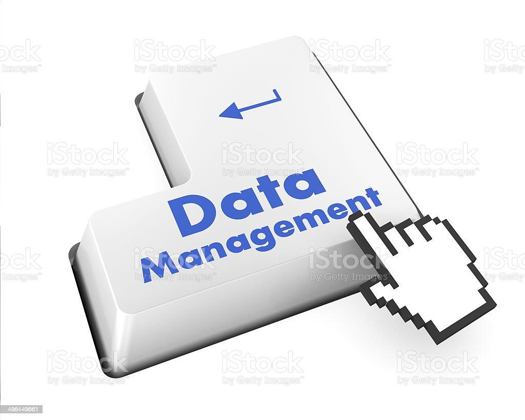 Data Management stock photo