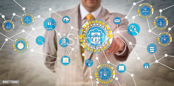 istock Data Manager Performing Edge Computing Via IoT 899776682
