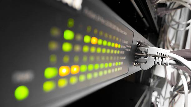 danych, - kabel komputerowy zdjęcia i obrazy z banku zdjęć