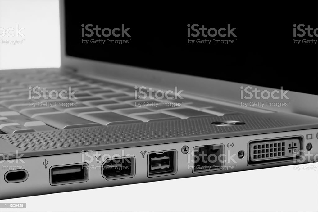 Data Ports stock photo
