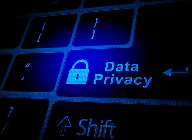 data privacy and security - privacy policy stock photos and pictures