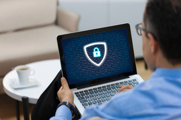 data privacy concept - security system stock photos and pictures