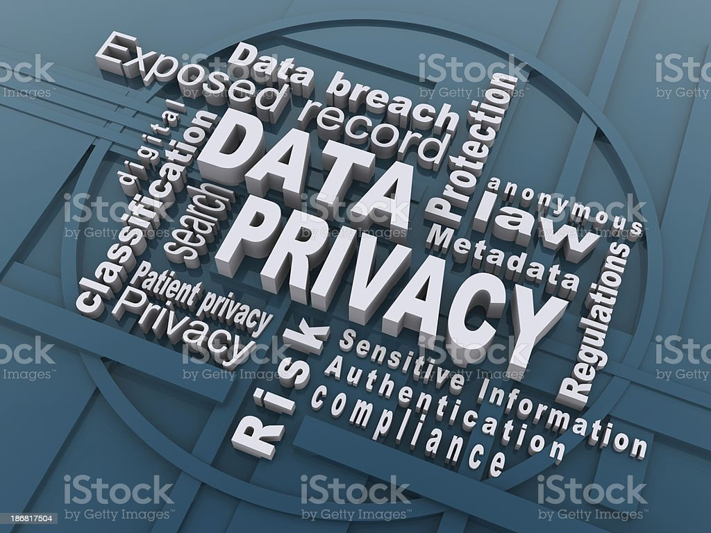data privacy stock photo
