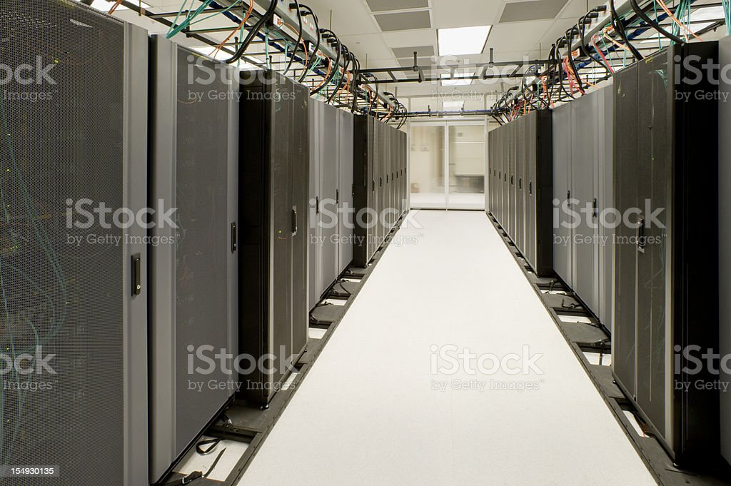 Data Processing Center royalty-free stock photo