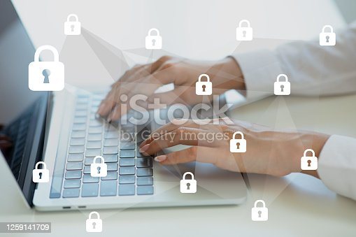 1068838170 istock photo Data protection and security 1259141709