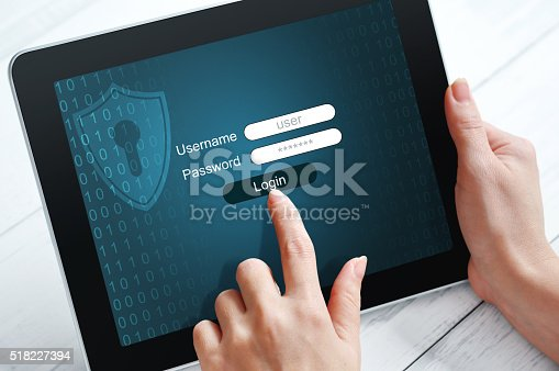 istock Data protection concept 518227394