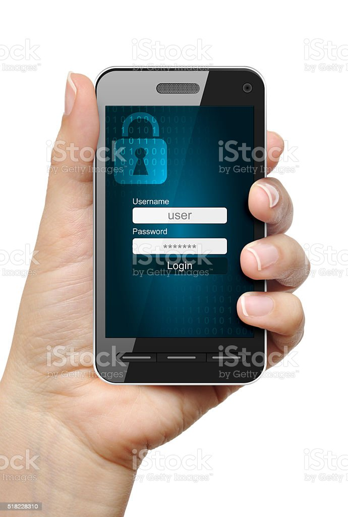 Data protection concept stock photo