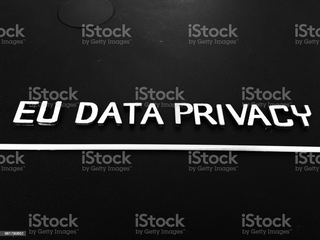Data Protection Gdpr Word Quote Privacy Security Database Eu European Commission Royalty Free Stock Photo