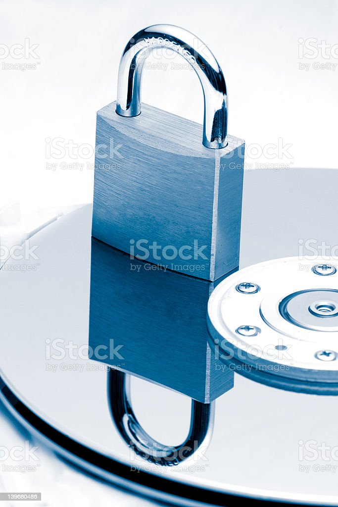 Data Protection royalty-free stock photo