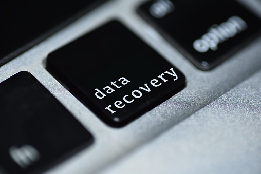 istock Data recovery online 823441678