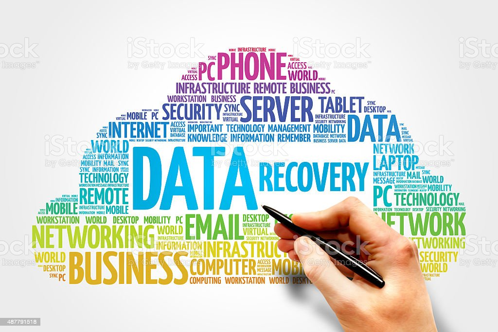 Data Recovery stock photo