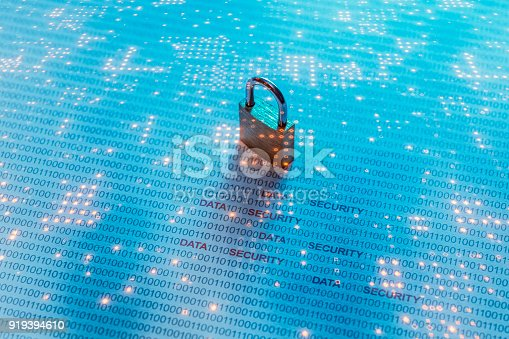 Data security concept image.
