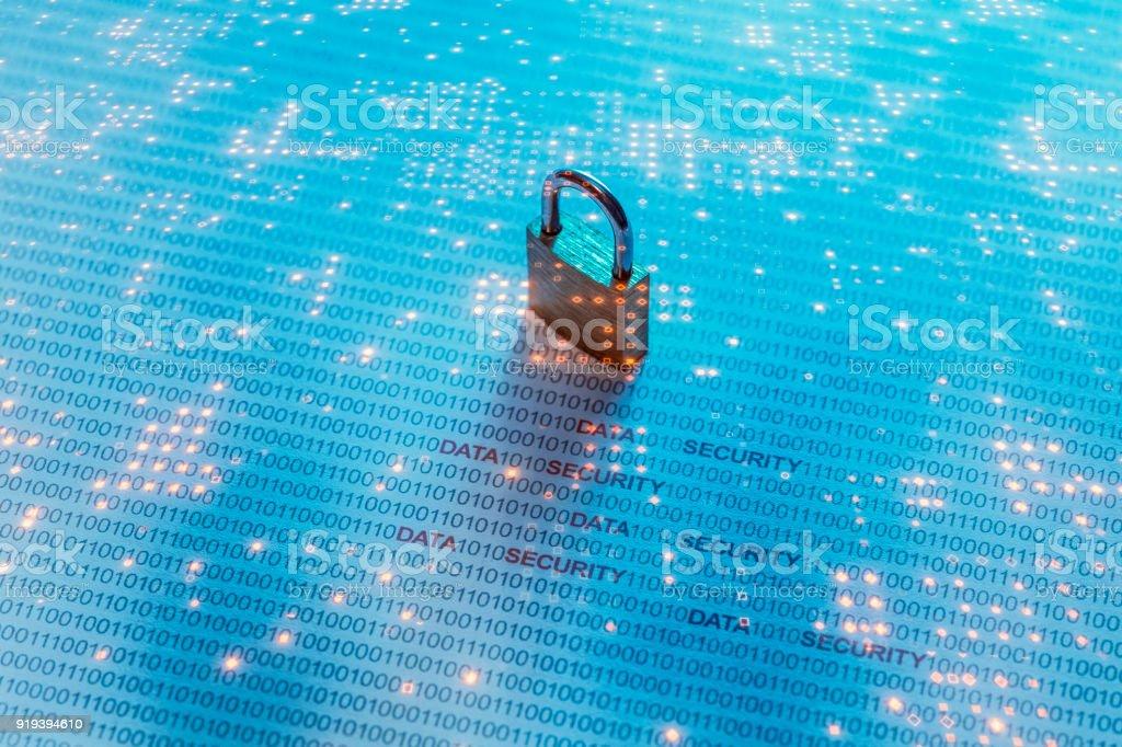 Daten-Sicherheits-Konzept-Bild – Foto