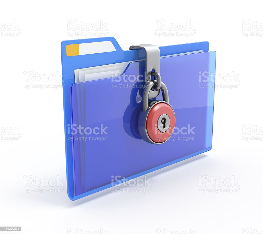 Data security. royalty-free stock photo