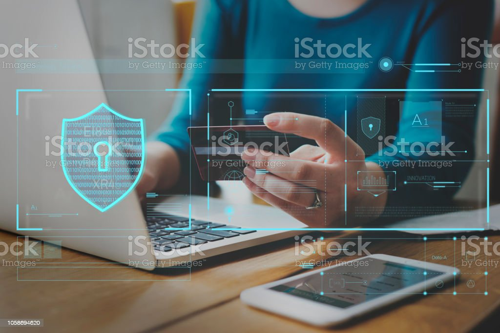 Data Security system Shield Protection Verification Data Security system Shield Protection Verification  ***These are our own 3D generic designs. They do not infringe on any copyrighted designs.*** Adult Stock Photo