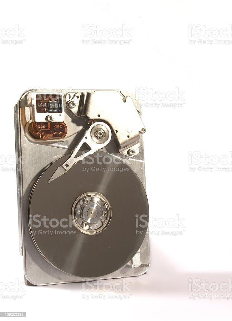 Data Storage - HDD royalty-free stock photo