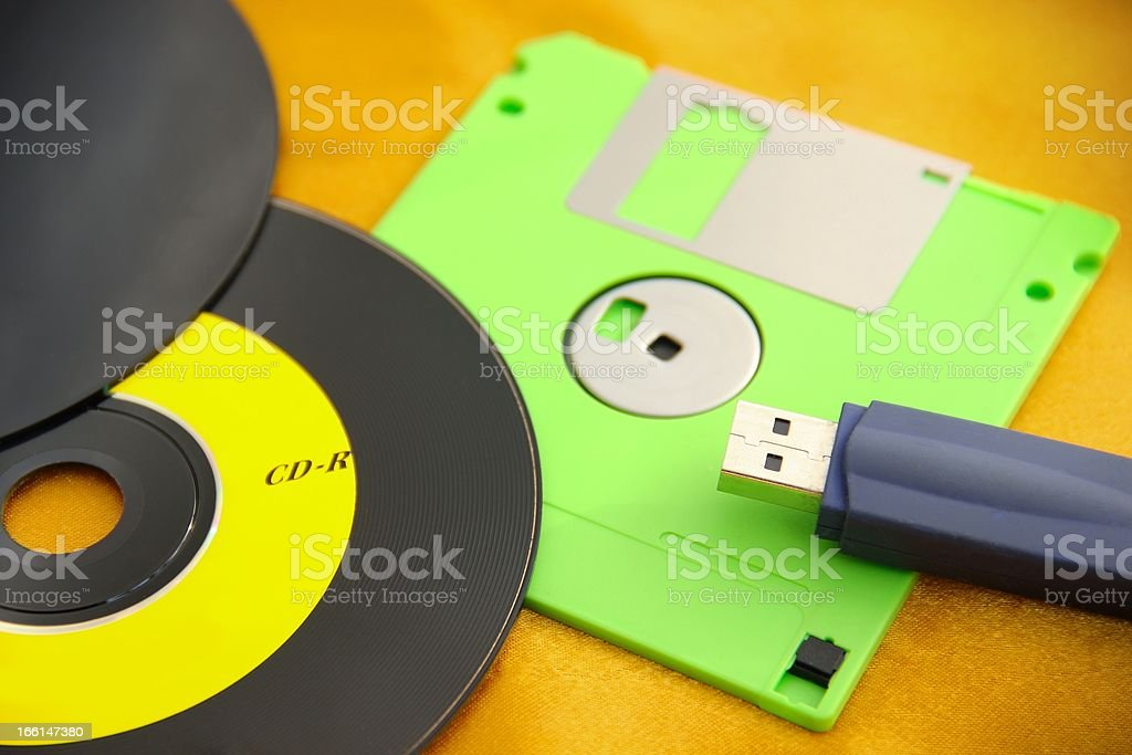 Data Store Devices stock photo