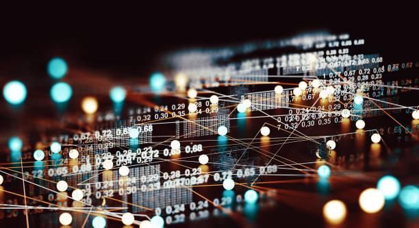 estrutura de dados e ferramentas de informação para negócios de networking - escorrer - fotografias e filmes do acervo