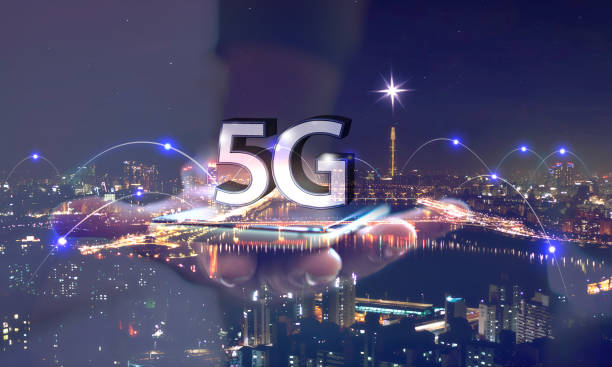 5g data transmission / network - vectors stock pictures, royalty-free photos & images