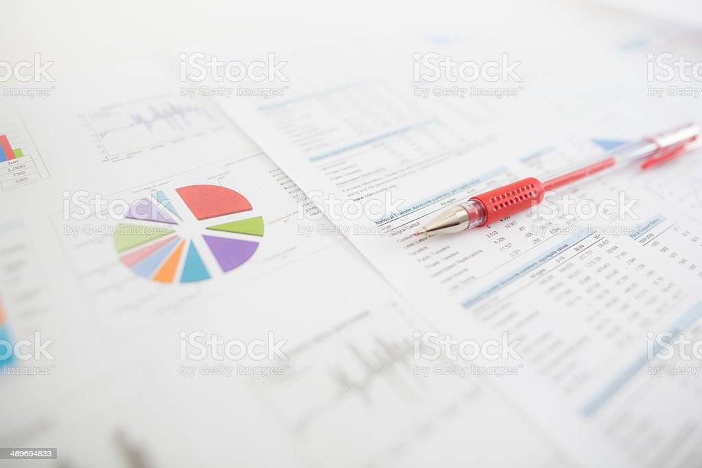 data trouble stock photo