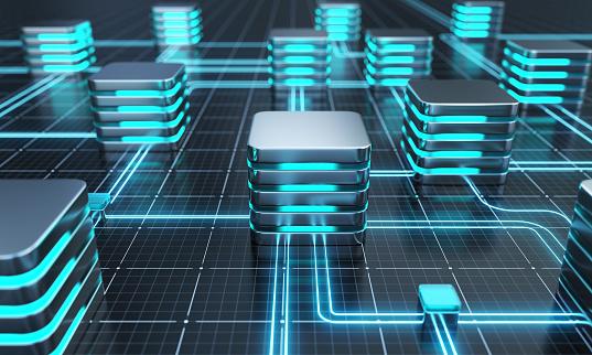 Database or network server concept