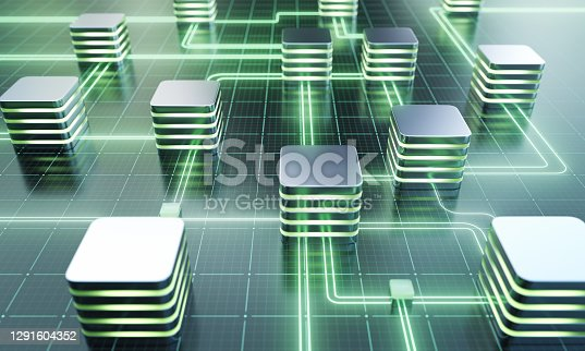 Database or network server concept