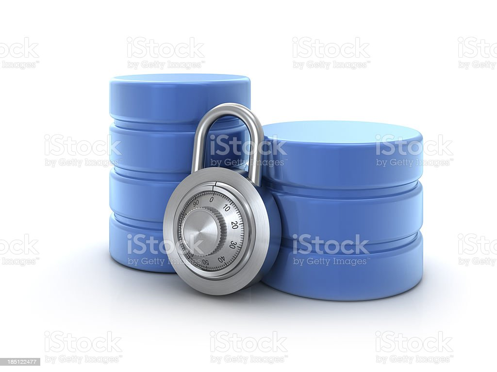 database security royalty-free stock photo