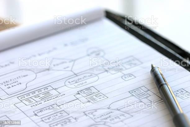 Dataflow Tabelle Diagramm Stockfoto und mehr Bilder von Bauwerk