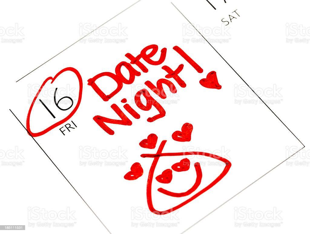 Date Night! royalty-free stock photo