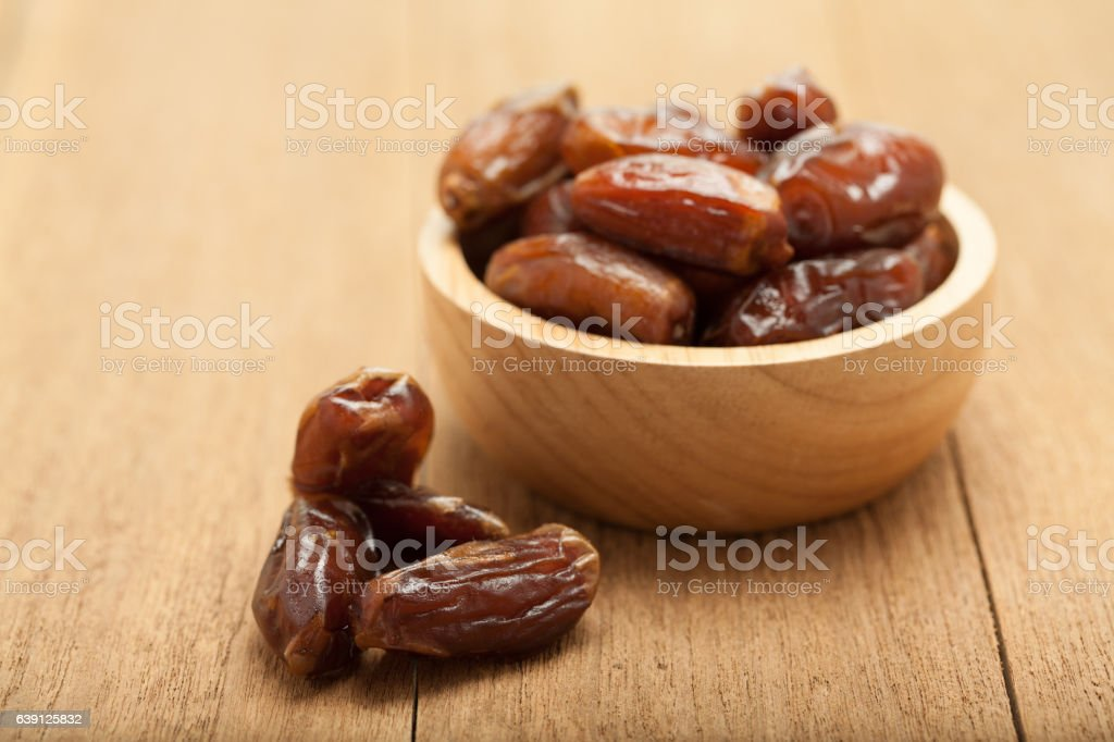 date palm dried fruit stock photo