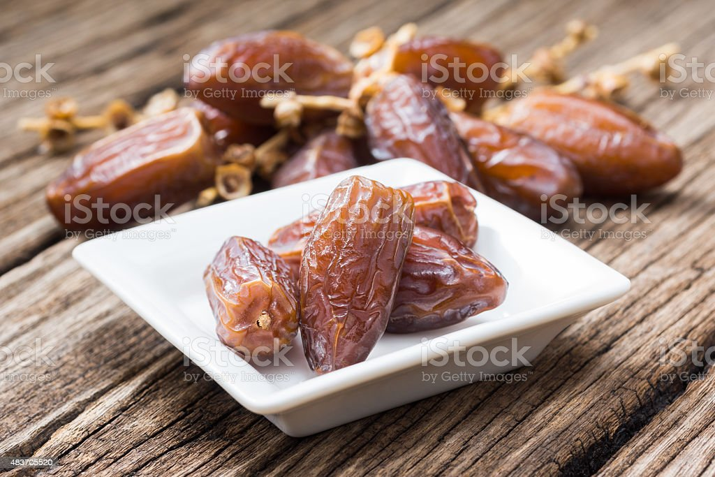date palm fruits stock photo