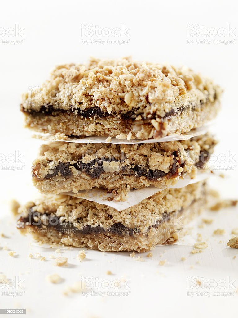 Date Squares royalty-free stock photo