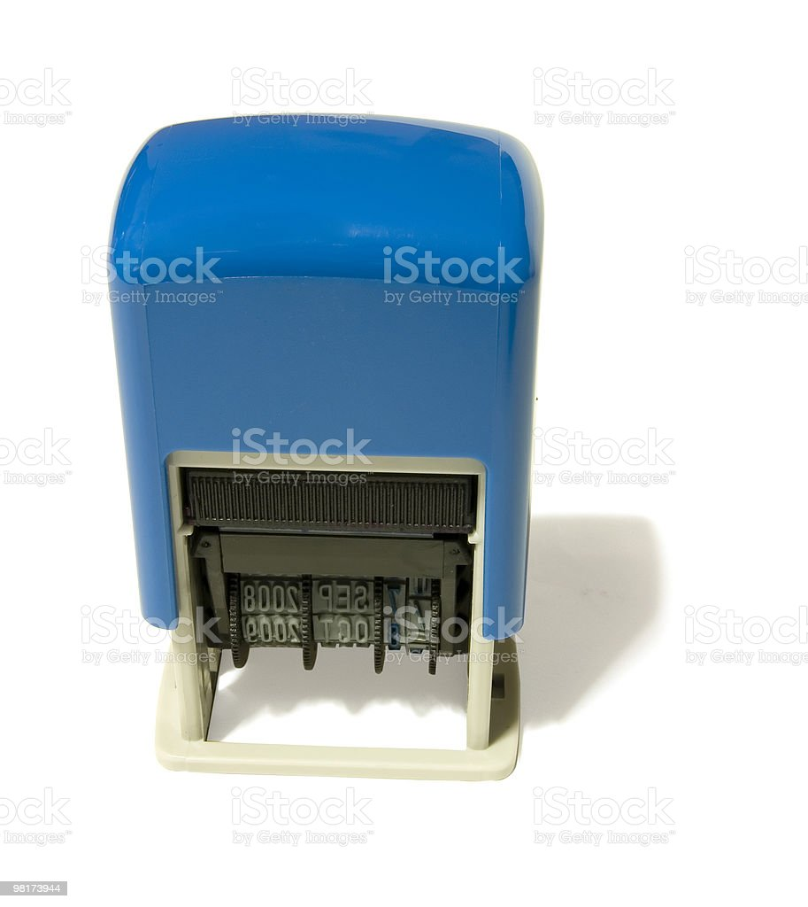 Date Stamper royalty-free stock photo