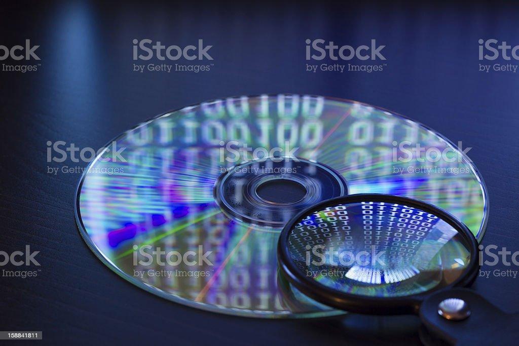 Datenanalyse stock photo