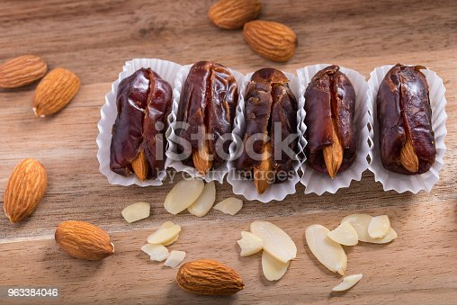 istock Dates and red almond 963384046
