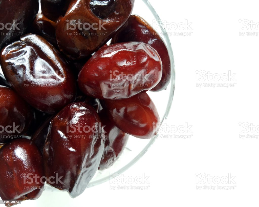 Dates Dry Fruit Natural and Healthy stock photo